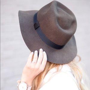 Madewell Baltimore felt Fedora hat